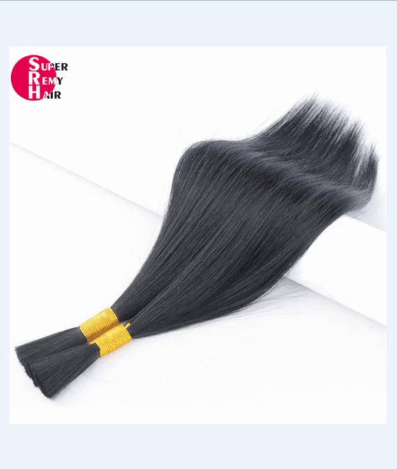 Human Hair Bulk 9a Grade 100 Human Hair Extensions 12 30 Inch Dark