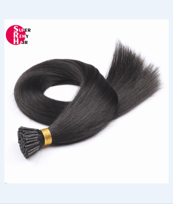 Super Remy Hair-100% human hair extensions i tip hair extensions