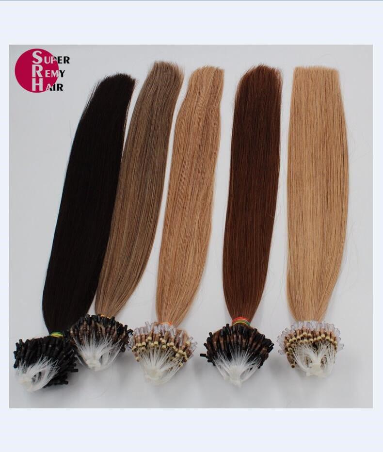 Loop hair 6a grade 100 human hair extensions 12 30 inch dark qq20171218142228 pmusecretfo Gallery