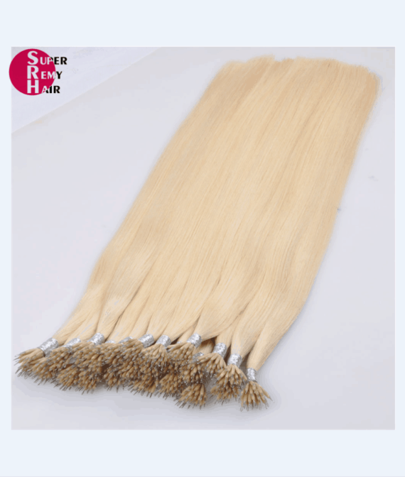 Super Remy Hair-100% human hair extensions nano hair extensions