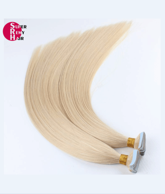 Super Remy Hair-100% human hair extensions tape in hair extensions
