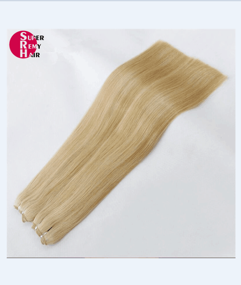 Hair Weft 9a Grade 100 Human Hair Extensions 12 30 Inch Light Color