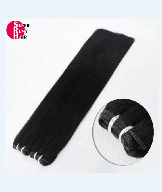 Super Remy Hair-100% human hair extensions high quality human hair weft