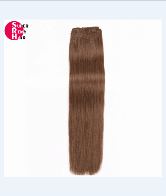 Super Remy Hair-100% human hair extensions clip in hair extensions