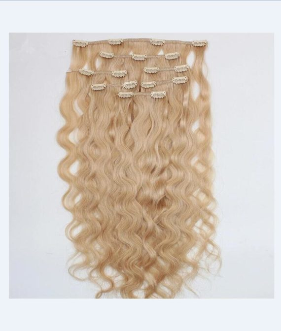 super remy hair clip in hair extensions (1)