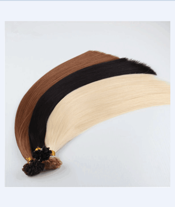 super remy hair flat tip hair extensions (3)