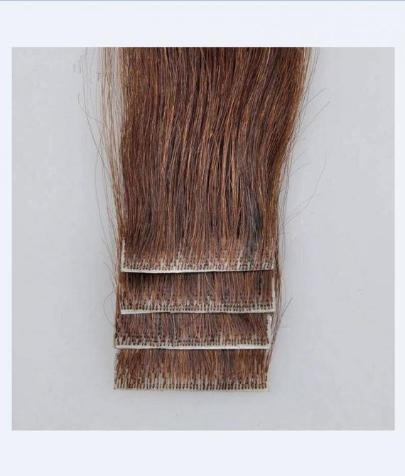 super remy hair hand tied tape hair extension (1)