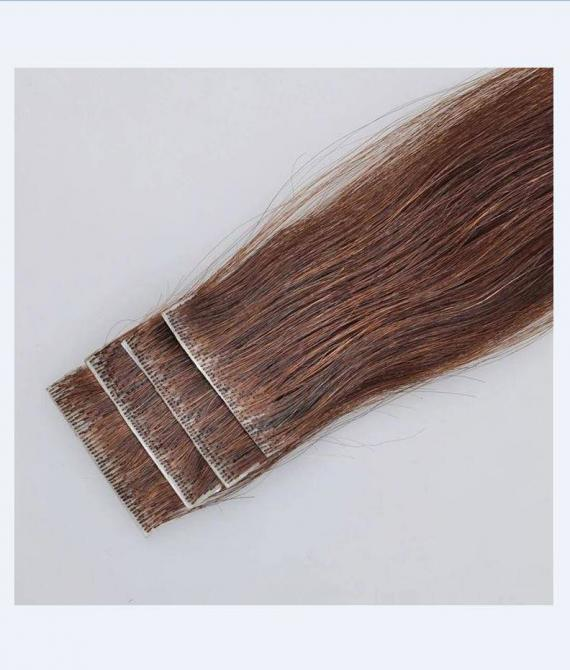 super remy hair hand tied tape hair extension (2)