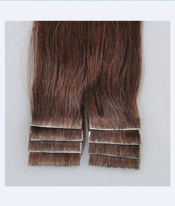 super remy hair hand tied tape hair extension (3)