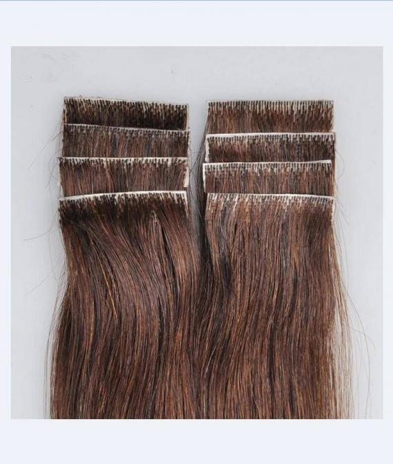super remy hair hand tied tape hair extension (4)
