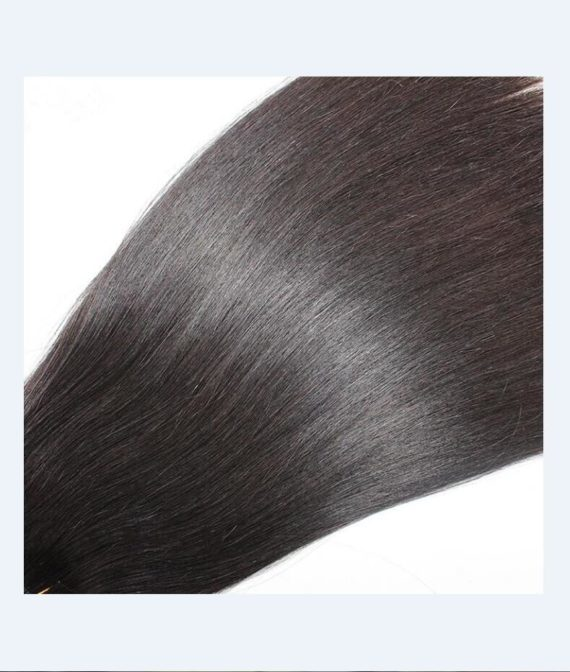 super remy hair hand tied weft hair extensions (2)