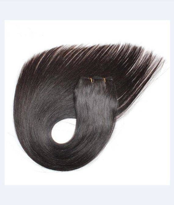 super remy hair hand tied weft hair extensions (3)