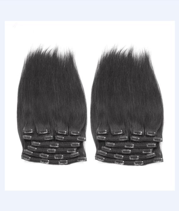 super remy hair lace clip hair (1)