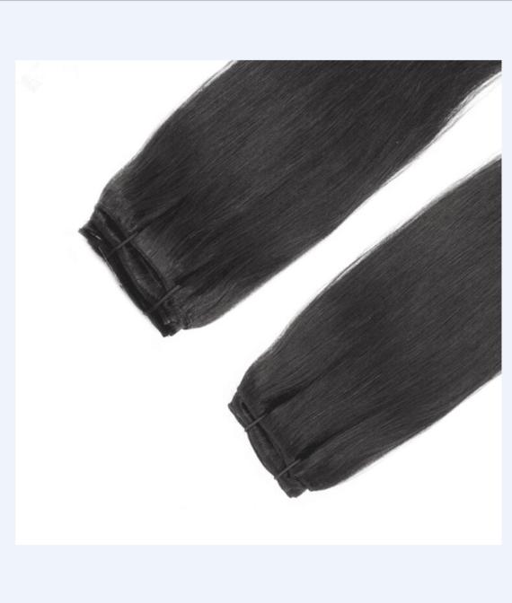super remy hair lace clip hair (2)