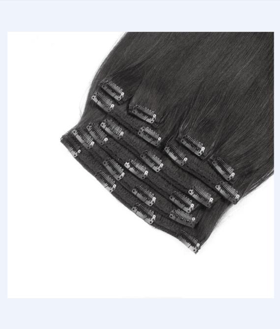 super remy hair lace clip hair (3)