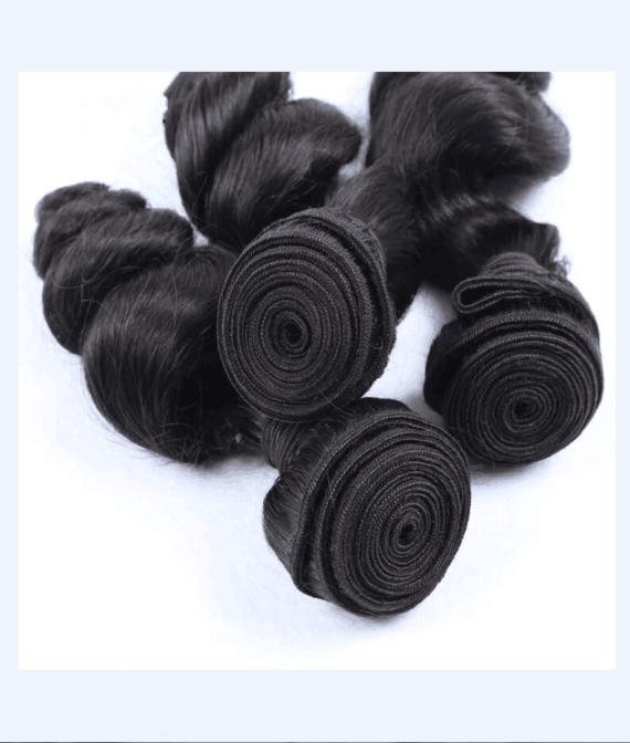 super remy hair machine hair weft (3)