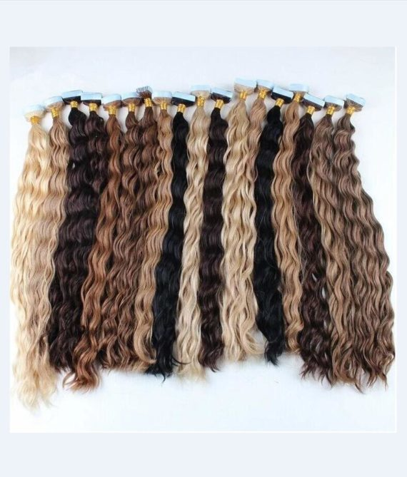 super remy hair tape in hair extensions (5)